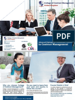 Adv Diploma in Profersional Practice in Contract Management