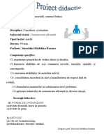 326 Proiect Didactic