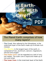 our earth- handle with care