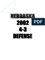 2002 Nebraska Cornhuskers 43 Defense - 168 pages
