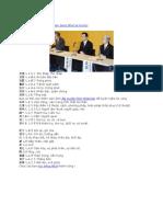 Danh Sách Từ Vựng Tiếng Nhật N1
