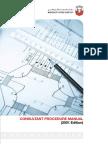 COnsultant Procedure Manual ABU DHABI