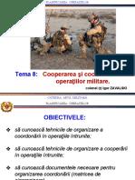 cooperarea operaţiunilor