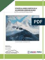 Plan de Adaptación Al Cambio Climático Cc Cordillera Blanca