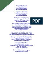 Across the Meadow Poem
