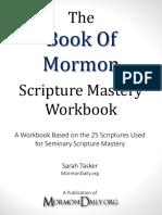Book of Mormon Scripture Mastery Workbook