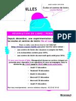 Info Famille Permanence Louise Michel