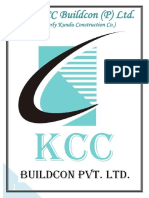 Company Profile KCC Buildcon Private Limited