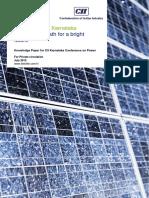 Solar Power in Karnataka - Opportunity