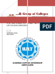 Internship Report on ILM College (Sargodha)