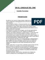 Iniciación Al Lenguaje Del Cine - Candido Fernandez