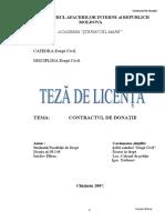 TEZĂ DE LICENŢĂ CONTRACTUL DE DONATIE.doc.DOC