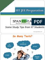 139718346 Tips on IIT JEE Preparation