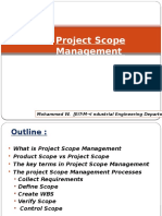 Chapter 3-Project Scope Mgt