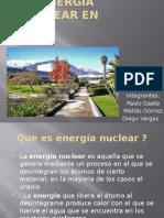 La Energía Nuclear en Chile