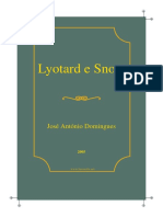 Lyotard Snow Experimentacao Acinema