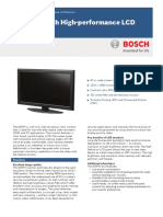 Bosch 42RTH Data Sheet