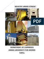Decline in Hotel Industry of Pakistan