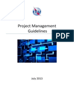 Project Management Guidelines and Templates