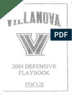 2004 Villanova Defense