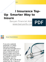 Medical Insurance Top-Up Smarter Way to Insure