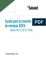 Usuario GeneracionN19SEPA CAS