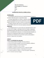 Programa de Práctica Jurídica I