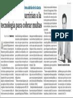 23-12-15 En Monterrey recurrirían a la tecnología para cobrar multas