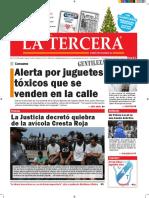 Diario La Tercera 23.12.2015