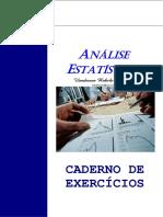 Análise Estatística - 2012.2 Exercícios