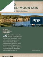 Fishing Boulder Mountain