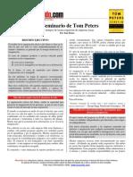 1er Control de Lectura-Excelencia Tom Peters