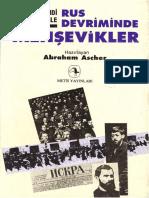 Abraham Ascher - Rus Devriminde Menşevikler