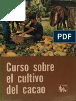 Curso Sobre El Cultivo de Cacao - CATIE