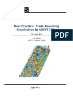 Best Practice Scale-Resolving Simulations in ANSYS CFD