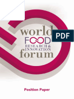 Position Paper World Food Research and Innovation
