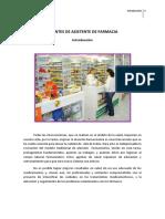 1- Introducción a La Atención Farmaceútica. Funciones Del a. de Farmacia