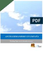 ANTIGERMANISMO EN ESPAÑA