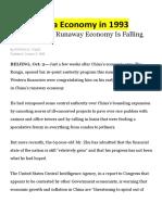 china economy in 1993-1999 2003 2004 2008 2012