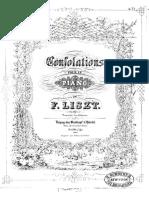 Liszt - Consolations n° 3