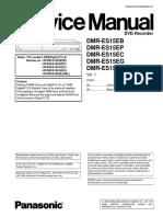 Panasonic DMR ES15EB Service Manual