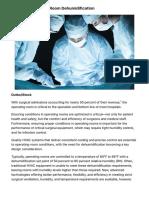 Humidity Control | Hospital Operating Room Dehumidification