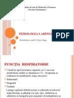 Fiziologia laringelui
