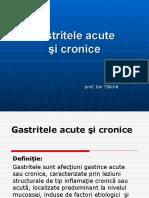 Gastritele Acute Şi Cronice