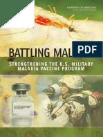 Committee on U.S. Military Malaria Vaccine Resear