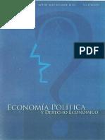 Economia Politica y Derecho Economico Mery Alvarado Ribas