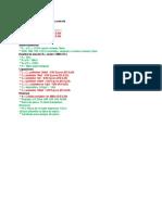 Circuito Frequencímetro e Controle - Lista de Componentes