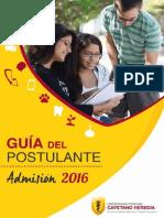 Guia Post 2016