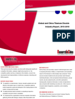 Global and China Titanium Dioxide Industry Report, 2015-2018