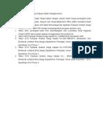 Pekembangan Analisis Harga Satuan (PAHS)